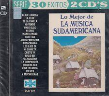 Ecos de los Andes Peru Lo Mejor de La Musica Sudamericana 30 Exitos 2CD New
