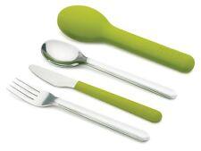 Joseph Joseph GoEat Space Saving Stainless Steel Cutlery Set - Green