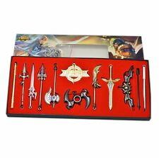 King of Glory Game Weapons Miniature Set Pendant Necklace Toys Gift Set