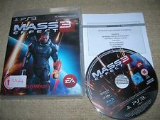 MASS EFFECT 3 - Rare Sony PS3 Game
