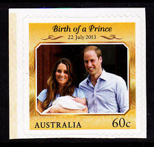 2013 Birth of Prince George Alexander Louis of Cambridge -  Booklet Stamp