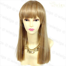 Wiwigs Long Straight Sexy Blonde Mix Skin Top Heat Resistant Ladies Wig
