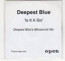 (EC684) Deepest Blue, Is It A Sin - DJ CD