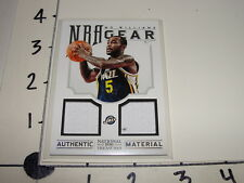 Mo Williams 2012-13 NATIONAL TREASURES #17 Dual Jersey / Jazz - Trail Blazers