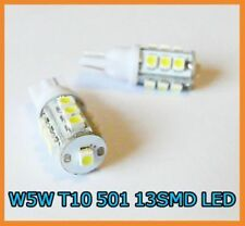 W5W T10 501 194 13 SMD LED NUMBER PLATE bulbs VAUXHALL 2