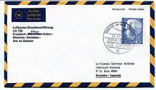FFC 1966 Lufthansa LH 736 Frankfurt Athen Cairo Khartum Entebbe Dar el Salaam
