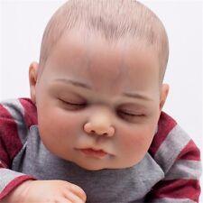 "20"" Newborn Handmade Sleeping Doll Soft Vinyl Realistic Reborn Baby Lifelike"