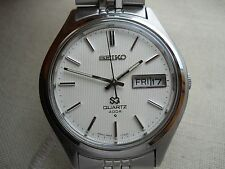 1972 NEW OLD STOCK, STUNNING SEIKO 4004 QUARTZ, ORIGINAL SEIKO BRACELET, ALL SS,