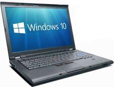 "Lenovo Laptop Windows 10 Pro ThinkPad T410 14"" i7 2.67Ghz 4GB 500GB Webcam Wifi"