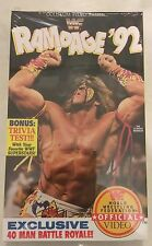 WWF Rampage 1992 SEALED Coliseum VHS Video Ultimate Warrior NEW WWE