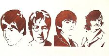 Beatles Stencil Reusable 10 mil Mylar Stencil
