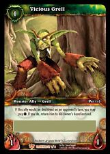world of warcraft wow tcg: vicious grell pet loot card unscratched