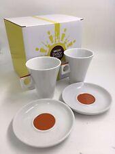 NESCAFE 'DOLCE GUSTO 180ml caffè lungo Coppa & Piattino Set di 2