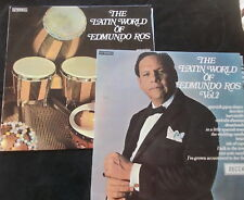 THE LATIN WORLD OF EDMUNDO ROS Two Records One Price