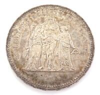.HIGH GRADE 1978 FRANCE FRENCH 50 FRANCS SILVER COIN.