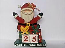 Santa Countdown to Christmas Accent