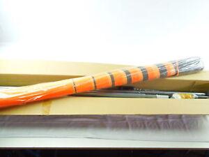 Angerer 2303/005 Klemm Markise Balkon o. Bohren 150 x 350 x 225 cm orange-braun