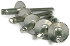 Aluminum POP Rivets Large Flange - 6-10LF, 3/16 x 5/8 Gap (.501 - .625) Qty-100