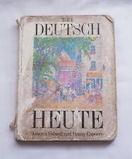 DEUTSCH HEUTE: BK. 1 By PENNY CAPOORE & DUNCAN SIDWELL vintage paperback