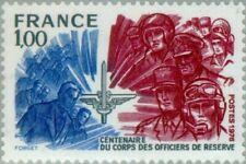 FRANCE - 1976 - Centenary Corps Reserve Officers - MNH Stamp - Scott #1492