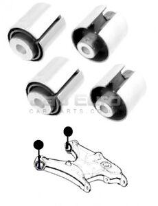 For Bmw X5 E53 Rear Axle Lower Swing Trailing Control Wishbone Arm Bushes Kit X4