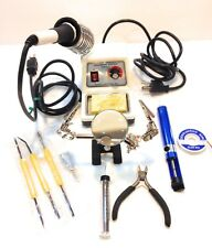 Elenco SL5 Soldering Station Bundle w/ Elenco 9SR6 40 W Iron & extra Tools