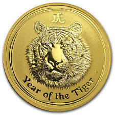 2010 1 oz Gold Lunar Year of the Tiger - Series II