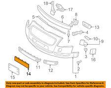 AUDI OEM 00-06 TT Quattro Front Bumper-License Panel 8N0807285GRU