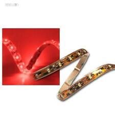 (6,80 €/m) 5m SMD LED Stripe Strisce Rosso FLEX 12v ip65 IMPERMEABILE Nastro Barra