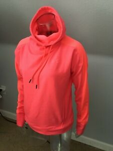 Under Armour Womens LOOSE High Neck Long Sleeve Shirt Top Size M