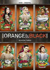 Orange Is the New Black: Season 3 Three (DVD) New, Free Shipping!