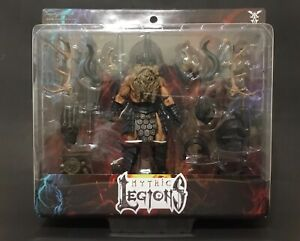 Mythic Legions BARBARIAN BUILDER DELUXE sealed NMoC 2016 1st Campaign!
