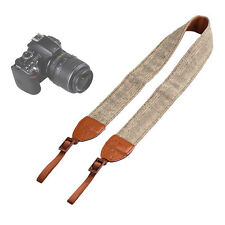 Universal Camera Shoulder Neck Belt Strap For SLR DSLR Digital Canon Sony Khaki