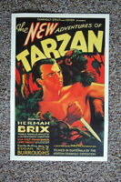 93561 The New Adventures of Tarzan Herman Brix Decor LAMINATED POSTER DE