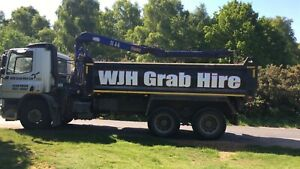 Grab hire and plant hire haulage service