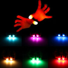 2Pcs Magic Light Up Daumen Finger Komisch Trick erscheinend Licht Close Up !