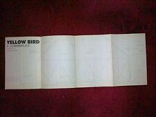 Yellow Bird por J Rutter pequeño acrobático RC Modelo Plan