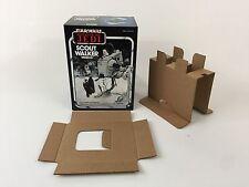 Nuevo retorno de las Jedi Palitoy Scout Walker Caja + Insertos