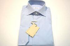 NEW  BRIONI Dress SHIRT 100% Cotton Size 15 Us 38 Eu   (Store Code AP5)