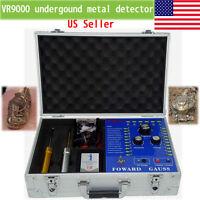 VR9000 metal gold detector Underground  Professional long range finder machine