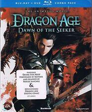 Dragon Age: Dawn of the Seeker (BD/DVD, 2012, 2-Disc Set)