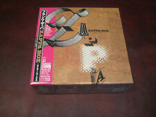 FRANK ZAPPA LATER WORKS Replica JAPAN TO ORIGINAL LP IN A OBI CD Sealed Box Set