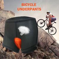 Women Men Cycling Shorts Underwear Bicycle Bike Pants  With Sponge Gel 3D Padded