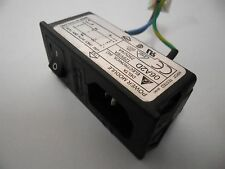 Delta Electronics Power Line Module 06A2D Switch Fuse Protection 125V/6A 250V/4A