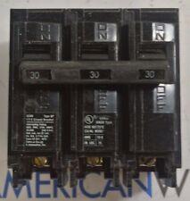 Siemens Q330 Circuit Breaker 30 AMP 3 Pole 60Hz Used