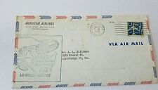 US Envelope: First Jet Air Mail Service Los Angeles-New York (1959)