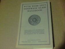 Ruth Webb Lee's Sandwich Glass Handbook 1966 8th printing