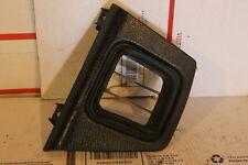 86-91 Mazda RX-7 RX7 64-911X OEM Left Side Dash Panel Vent Trim Grey/Black