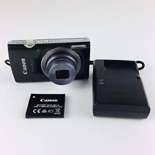 Canon PowerShot ELPH 160 20.0MP Digital Camera - Black With Charger