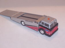 FORD COE FLATBED RAMP TOW TRUCK CAR HAULER 1/64 DIECAST COLLECTIBLE MODEL